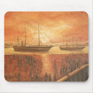 Sunset on the Past Mouse Pad