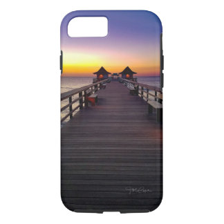 Sunset on the Pier Phone Cases