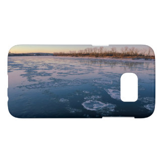 Sunset on the River Phone Case