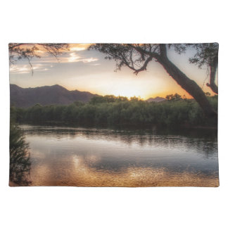 Sunset on the River Placemat