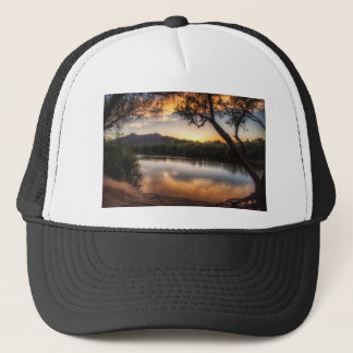 Sunset on the River Trucker Hat