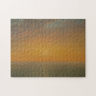 Sunset on the Sea Jigsaw Puzzle