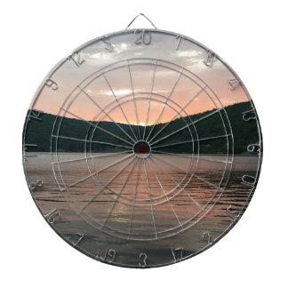 Sunset On The Water Dartboard