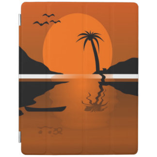 SUNSET ON THE WATER iPad COVER