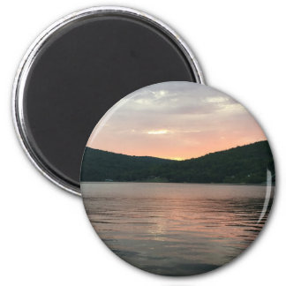 Sunset On The Water Magnet