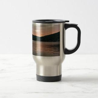 Sunset On The Water Travel Mug