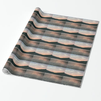 Sunset On The Water Wrapping Paper