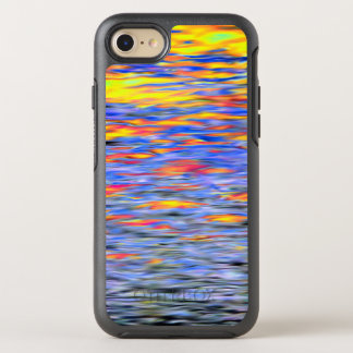 Sunset on water OtterBox symmetry iPhone 8/7 case
