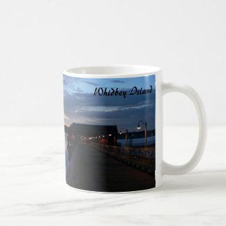 Sunset on Whidbey Island, Coupeville, Washington Coffee Mug