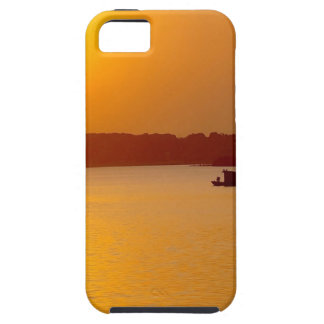 Sunset Orange Water Glow iPhone 5 Cases