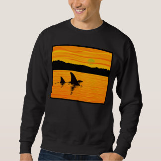 Sunset Orcas Sweatshirt