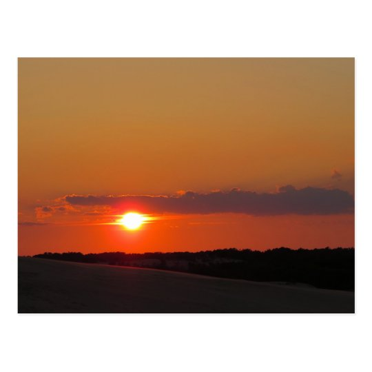 Sunset Outer Banks Postcard
