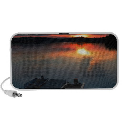 Sunset Over Bearlake iPhone Speakers