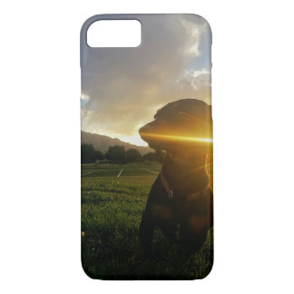 Sunset over Boulder iPhone 8/7 Case