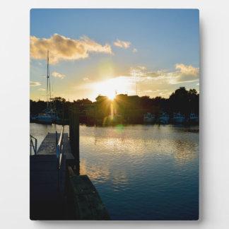 Sunset over Cape Cod Plaque