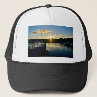 Sunset over Cape Cod Trucker Hat
