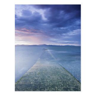 Sunset Over Dundalk Bay Postcard