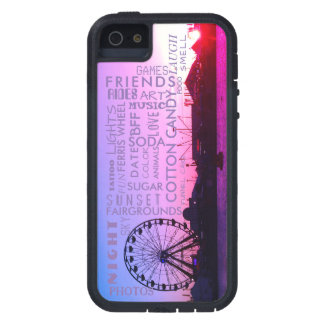 Sunset over Fairgrounds Trendy Case For iPhone 5