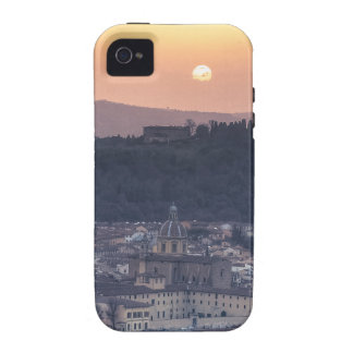 Sunset over Florence Italy Vibe iPhone 4 Case