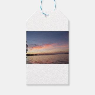 Sunset over Florida Bay, Key Largo FL Gift Tags