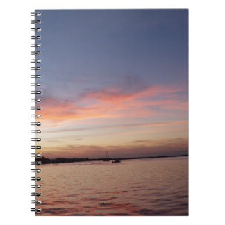Sunset over Florida Bay, Key Largo FL Notebook