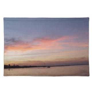 Sunset over Florida Bay, Key Largo FL Placemat