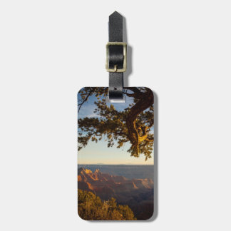 Sunset over Grand Canyon Luggage Tag