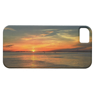Sunset Over Jamaica Bay in Rockaway Beach iPhone 5 Cover