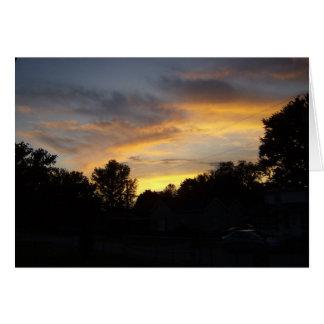 Sunset Over Kentucky Card