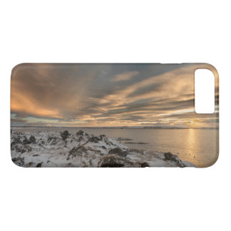Sunset over lake Myvatn, Iceland iPhone 8 Plus/7 Plus Case