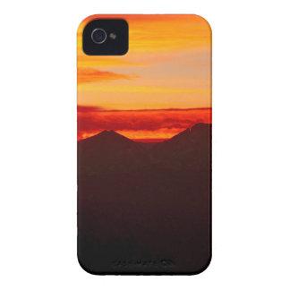 Sunset Over Longs Peak Colorado iPhone 4 Case