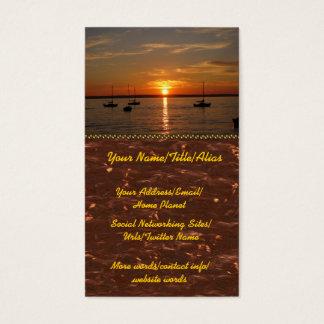 Sunset Over Lummi Island