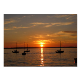 Sunset Over Lummi Island Pack Of Chubby Business Cards