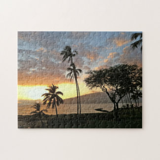 Sunset Over Maalaea Bay, Maui Jigsaw Puzzle
