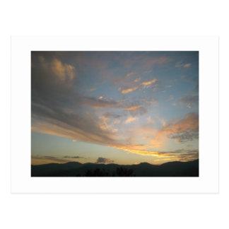Sunset over Medellín Postcard