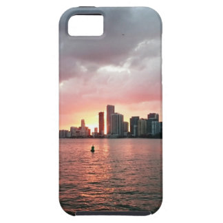 Sunset over Miami Case For The iPhone 5