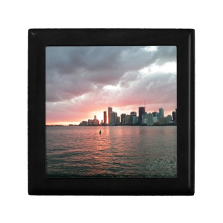 Sunset over Miami Gift Box