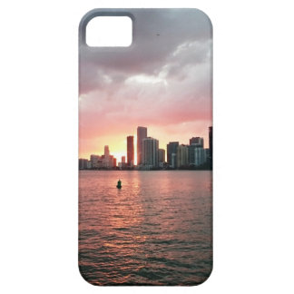 Sunset over Miami iPhone 5 Cover