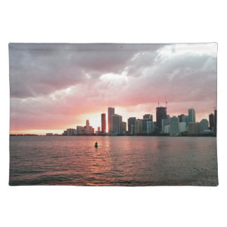 Sunset over Miami Placemat
