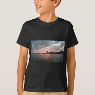 Sunset over Miami T-Shirt
