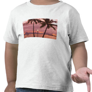 Sunset over Moorea from Sofitel Maeva Beach Shirt