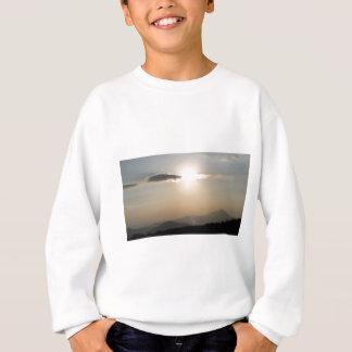 Sunset over mountains sweatshirt