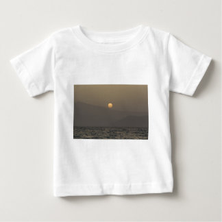 Sunset over Paros island mountains Baby T-Shirt