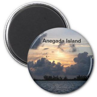 Sunset over Pomato Point Magnet