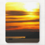 Sunset over Puget Sound Mousepad