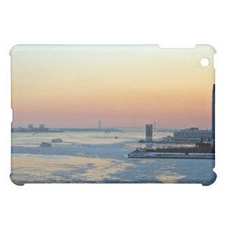 Sunset over river iPad mini cover