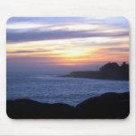 Sunset over Santa Cruz Mouse Pad