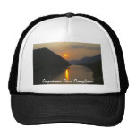 Sunset over Susquehanna River Pennsylvania Hat