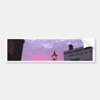 Sunset Over the Black Country Museum Bumper Stickers