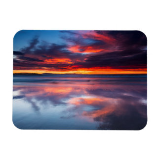 Sunset over the Channel Islands, CA Magnet
